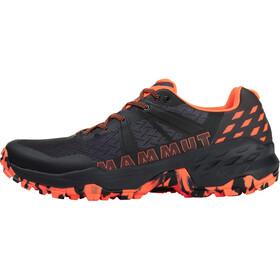 Mammut Sertig II Low Shoes Men, black-vibrant orange